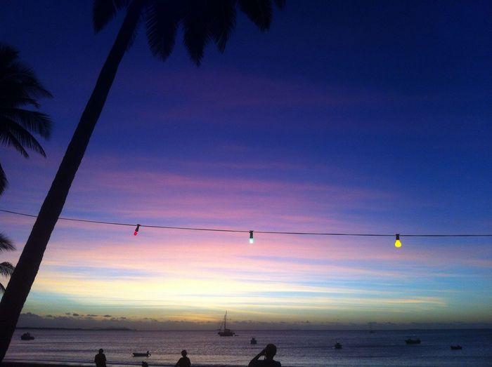 🌸 Sunset Sky Colors Ocean Beach Wanderlust Landscape Summer Holiday