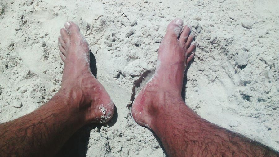 Sand Beach Human Body Part Barefoot One Person Day One Man Only Human Leg Close-up Low Section Outdoors Adult Only Men Men People Adults Only Second Acts