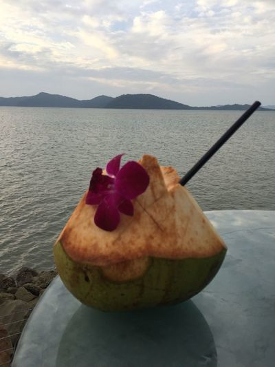 Relaxing Enjoying Life Happy Fourth Of July Sunset Bar Shangri-La Tanjung Aru Resort And Spa Five Star Hotel in Kota Kinabalu Sabah Borneo