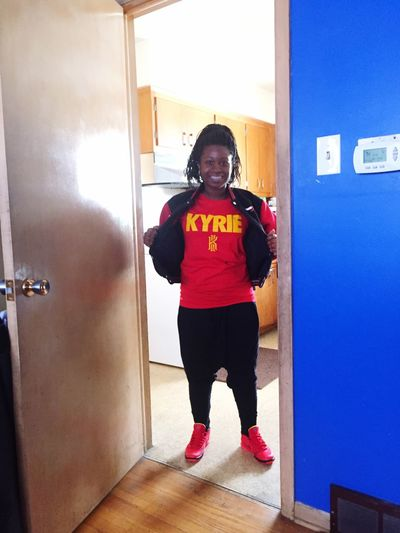 Soul II Soul Sunday... Outing Kyrie Red Flee DOPE Enjoying Life