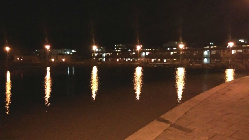 Night at the campus