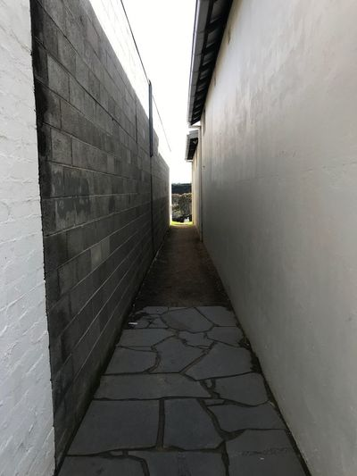 Perspective Direction The Way Forward Architecture Built Structure Wall - Building Feature Building Exterior No People Diminishing Perspective Narrow Building Footpath Day Wall Alley Empty Outdoors vanishing point Nature Brick Wall