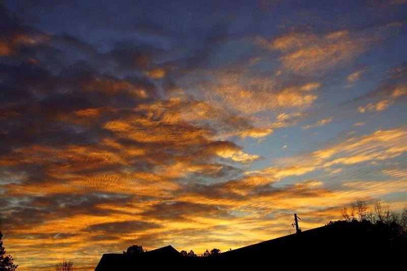 Another colorful sunset last night. Sunset #sun #clouds #skylovers #sky #nature #beautifulinnature #naturalbeauty #photography #landscape EyeEm Best Shots - Sunsets + Sunrise WeatherPro: Your Perfect Weather Shot Cloud Porn