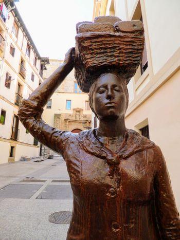 Donostia / San Sebastián Spain🇪🇸 Historic Human Representation Female Likeness Sculpted Inner Power End Plastic Pollution This Is My Skin