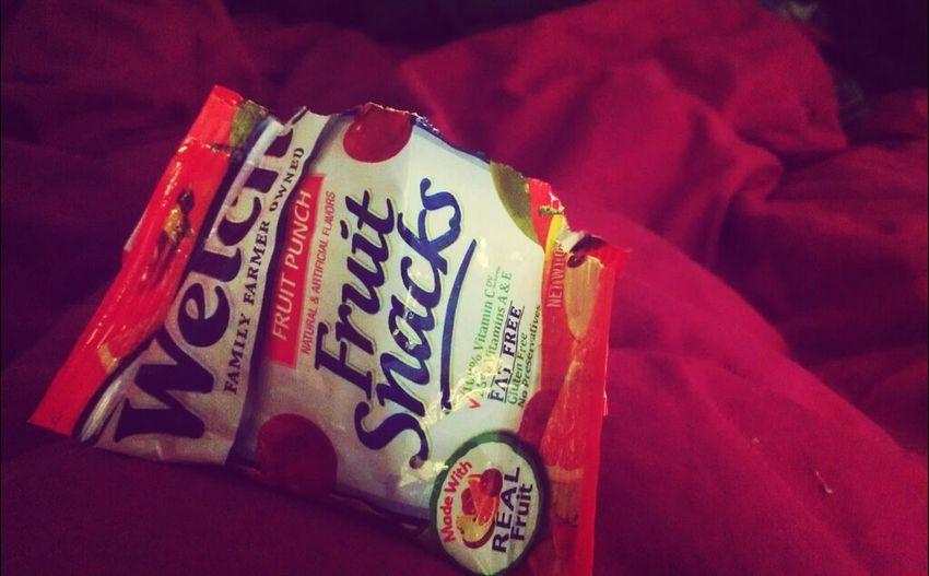 Eating In Bed Fruit Snacks