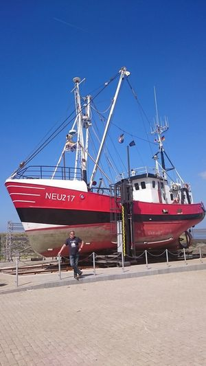 Boat North Sea Neuharlingersiel