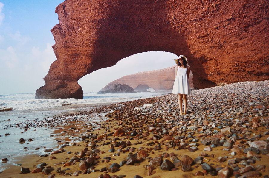 Sidi Ifni Legzira Morocco Red Cliffs Landscape