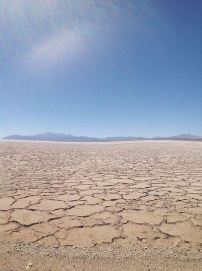 Salinas Grandes , Buenos Aires Argentina Desert No People