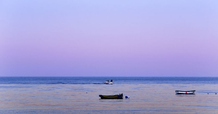Beach Beauty In Nature Clear Sky Day Horizon Over Water Napatu Nature Nautical Vessel No People Outdoors Scenics Sea Sky Tranquil Scene Tranquility Transportation Water