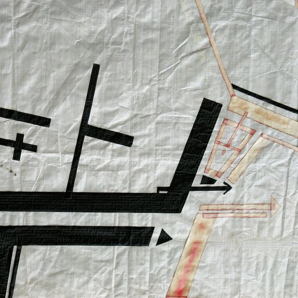 Canvas According To Plan Lines And Shapes Arrows Direction Plan Overview Urban Geometry Edition Muster Mix Surface Pattern, Texture, Shape And Form Textures And Surfaces Minimalobsession Minimalism Memory Fine Art Berlin Streetart StreetArtEverywhere Culture Of Germany Steetart Abstract ArtWork Lines, Colors & Textures Lines&Design