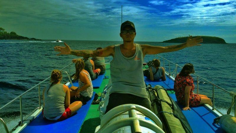 Boating to Gili Trawangan,Lombok-Indonesia