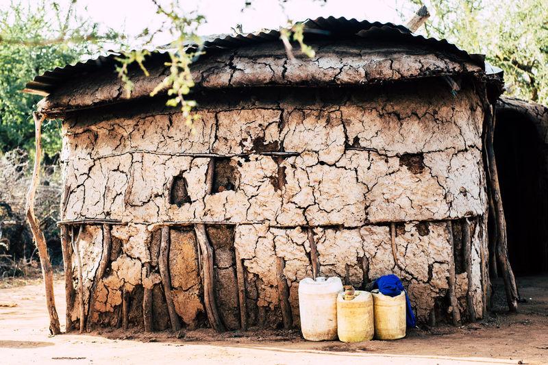 Desert Drought Kenya Laundry Tanzania Africa African House Colorful Cow Dung House Hut Maasai Masai Masai House Sand Summer Traditional Warm Water Tank An Eye For Travel EyeEmNewHere