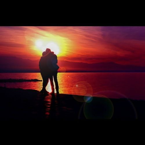 Lovers at Sunset Sunset Tagsforlikes Tflers Photooftheday Amazing Follow4follow Like4like Instalike Picoftheday Instadaily Colorful Instacool Love Funny Life Art Nature Skylovers Spring Pretty My Shots Sony Orange Sea girls man woman