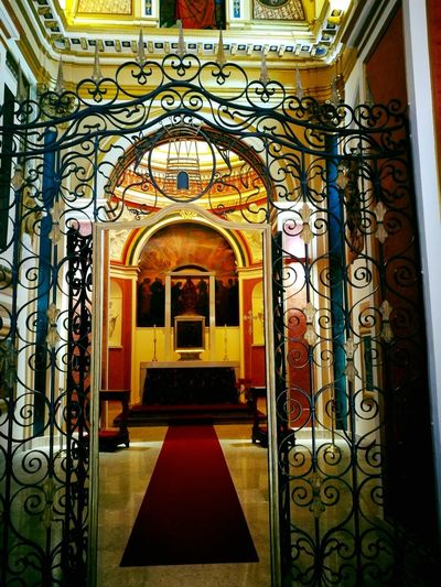 Arch Architecture Travel Destinations Indoors  No People Day St. THOMAS CHAPEL St.Thomas Chapel