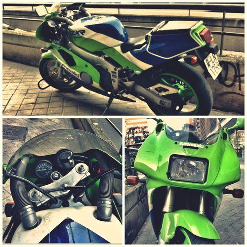 Kawasaki ZXR 400 L (1991) Motorcycles Joyas Aparcadas Vintage Motorcycles