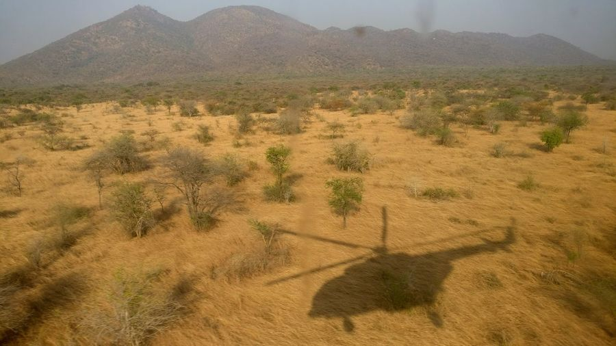 The air wolf Desert Nature Landscape Mountain Scenics No People Natural Landmark Hill