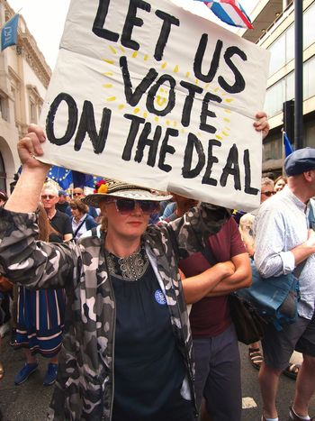 March For The Peoples vote. Whitehall. London. 23/06/2018 Stevesevilempire Steve Merrick Protest Protesters Whitehall London London News Europe Remainers Remain Brexit British Politics Politics And Government Brexit Protest Text Group Of People Western Script Communication Protest Protestor Women