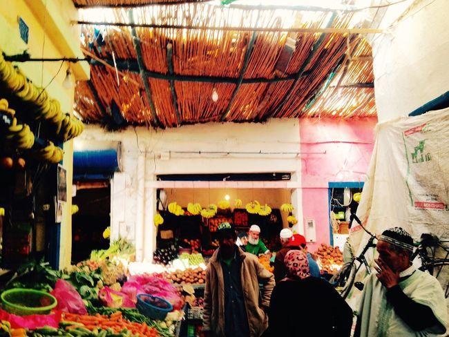 Marokko Essaouira Medina Market Fruit Obst Vegetables Gemüse Morocco