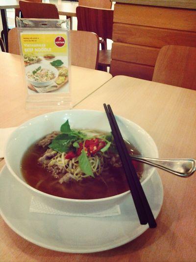 Kopitiam Grand Indonesia - New Menu - Vietnamese Beef Noodle