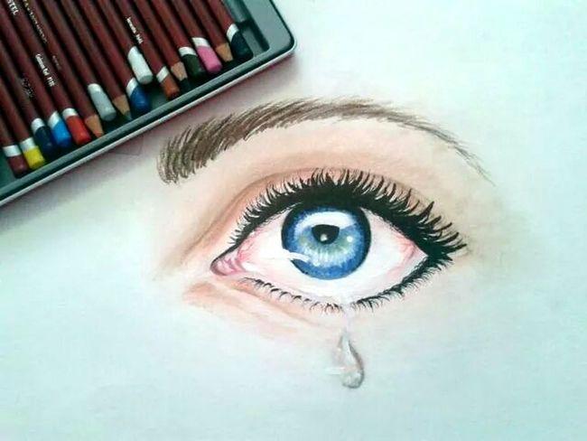 Blue Eye <3 <3 ^_^ Eyes Drawing Art Relaxing