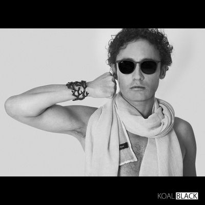 Black by @koal.black Casual Clothing Facial Expression Fashion Fashionable Fashioned Fashioneditorial Holding Leisure Activity Person Studio Shot Waist Up White Background Young Adult