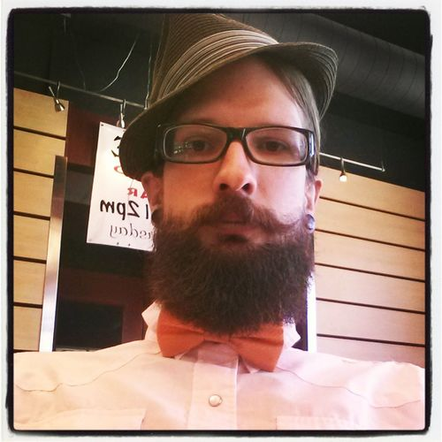 Hipster Moustache Glasses Bowtie