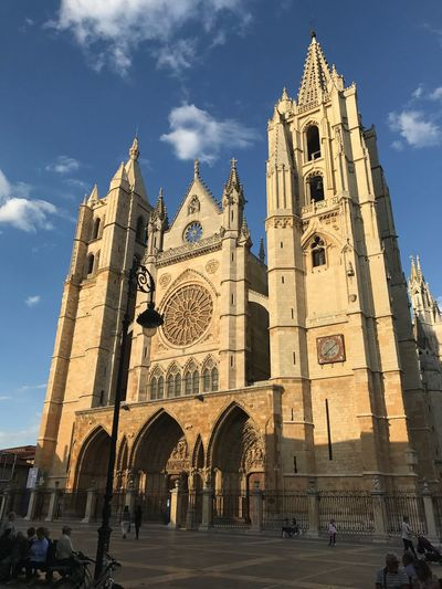 Catedral de León Built Structure Architecture Building Exterior Religion Building Belief Spirituality First Eyeem Photo