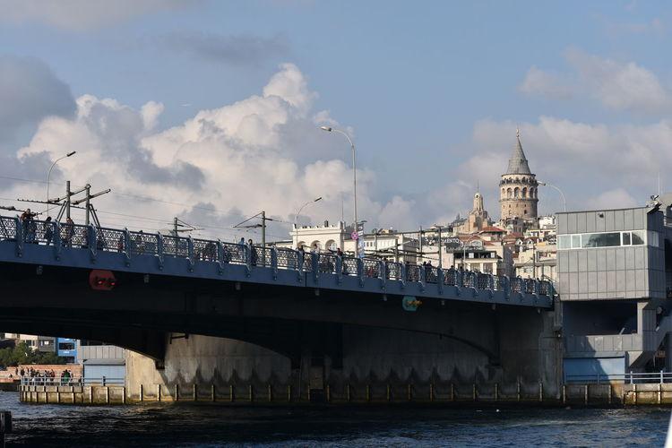 Bridge and tower
