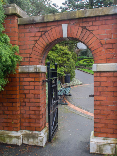 Brick archway Arch Architecture Archway Brick Arch Brick Wall Bricks Built Structure Gate No People Outdoors
