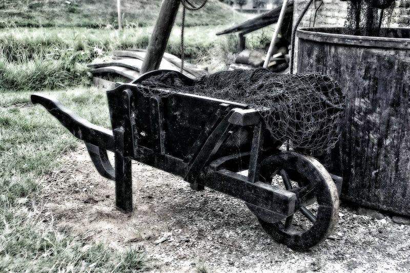 Taking Photos Wheelbarrow Old Cheap Transport