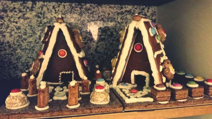 Lebkuchenhaus Wihnachten kan kommen Dezember