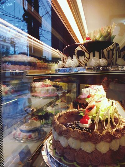 My bro's birthday Cakes Bakery Reflection Jummy Color Of Food Colorful Outdoors Travel Destinations City No People Day Food Stories