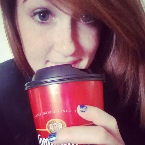 Much needed coffee(cappuccino) run. Frenchvanilla