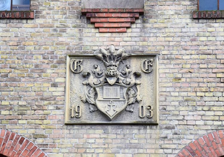 Historical Building Spechthausen Architecture Brick Wall Building Exterior Close-up Coat Of Arms Day Detail History No People Outdoors