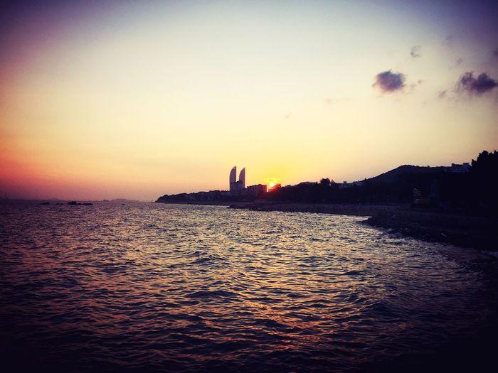 Wait for sunset