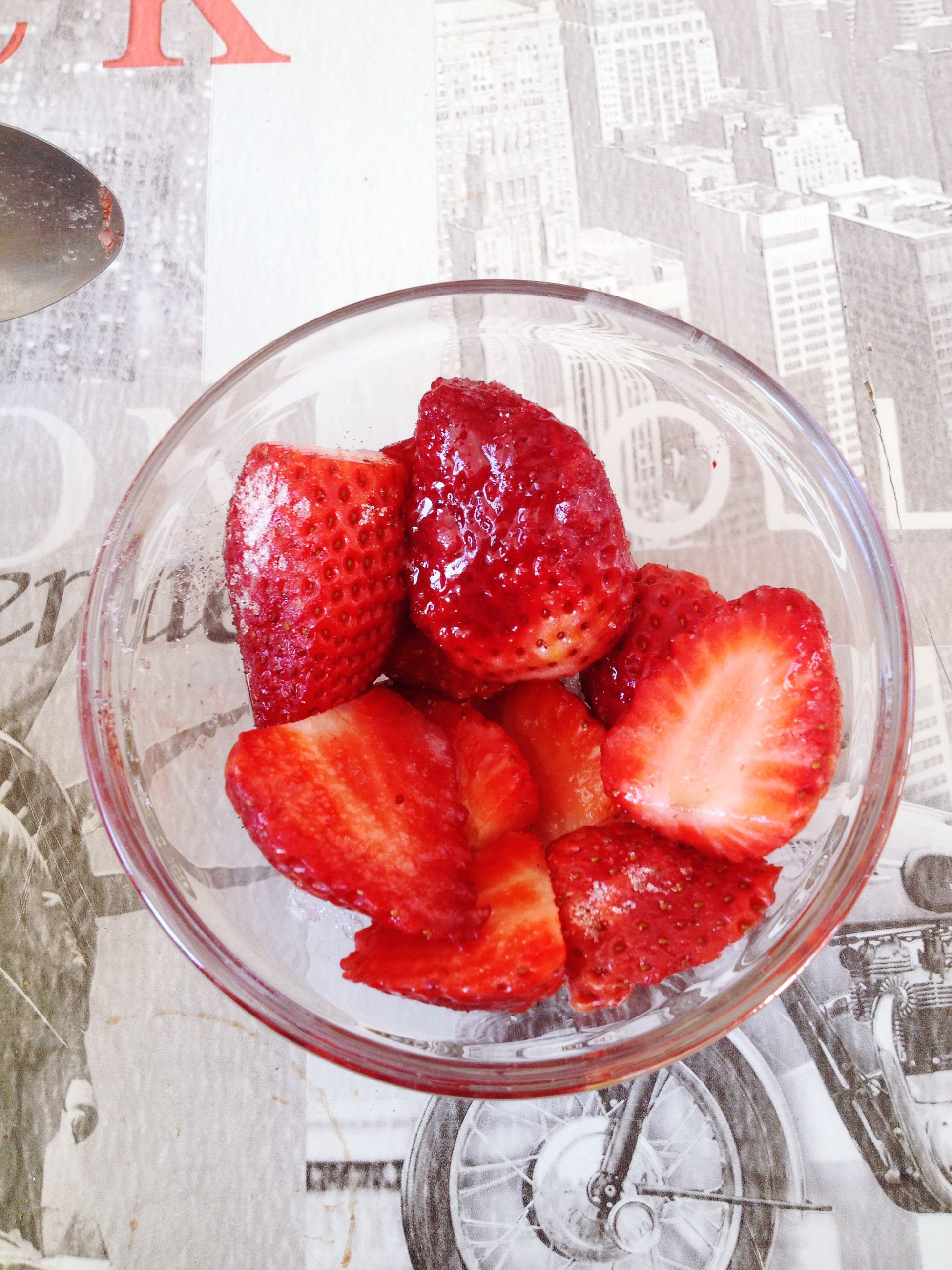 food and drink, food, freshness, fruit, red, strawberry, healthy eating, still life, indoors, ready-to-eat, high angle view, table, close-up, raspberry, indulgence, berry fruit, no people, bowl, ripe, sweet food