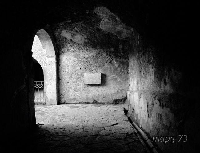 Blackandwhite Historical Monuments Roman Ruins Pompeii