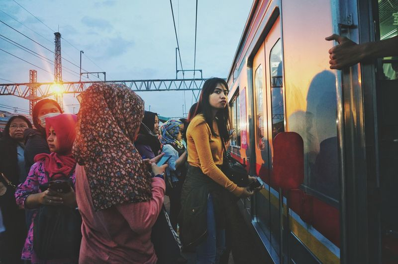 EyeEm Selects Streetphotography Afterofficehour Crowd Trainstations