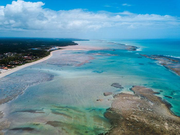 Water Sea Sky Scenics - Nature Tranquil Scene Travel Destinations No People Beach Day Mavic Pro Drone