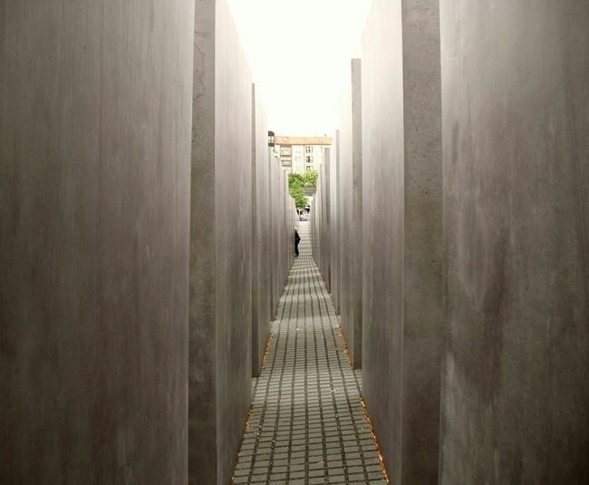 Holocaust Memorial Sacred Places Geometric Geometric Architecture Historical Berlin Brickpathways Holy Ground Posters