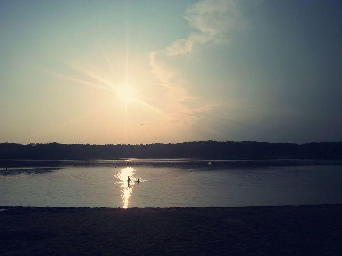 Long Lake Recreation Area Sun Swimming :) Sun Reflection