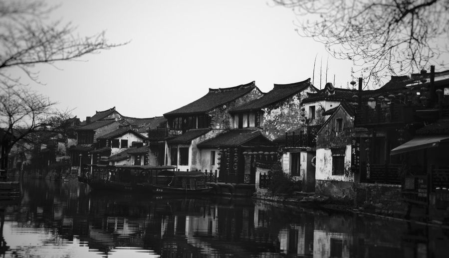 Xi Tang Ancient Town Architecture Water Town