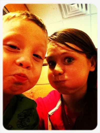 """As Our Aunt Calls It The """"nycole"""" Face:)"""