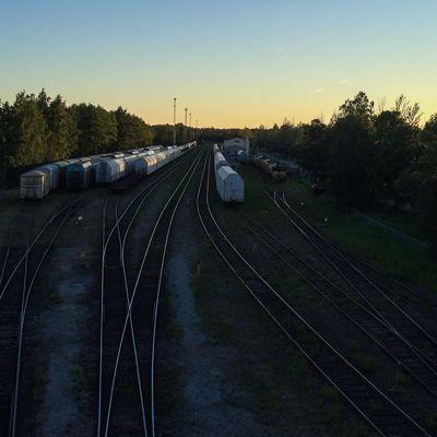 Railway yard at Hangö. Hango Hanko Finland Suomi Visitfinland