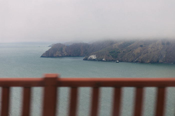 view from the passenger window, driving back to San Francisco, on the Golden Gate Bridge. 85mm Bay Beauty In Nature Bridges Canonphotography Day Fog Fog_collection Foggy Weather Horizon Over Water Landscape Motion Mountain My Year My View Nature No People Outdoors Sea Seascape Sky Water Finding New Frontiers Canon 6D Adapted To The City Adapted To The City Long Goodbye Neighborhood Map