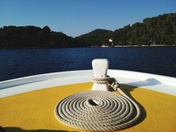 Summer2015 Boat Life Nature Mljet Croatia Nature Reserve