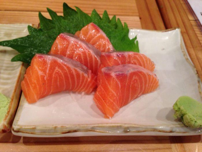 サーモン(^ー^)ノ☆ Sashimi  Salmon Sashimi Japanese Food