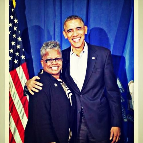 Senator Marilyn Moore but I call her Mom! 2014-win!
