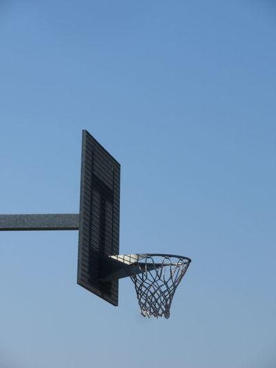 Basketball - Sport Basketball Hoop Clear Sky Sport Blue Sky