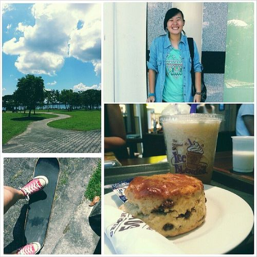 Had my best and last youth day! Gettingold Youth Day Sky coffeebean skateboard